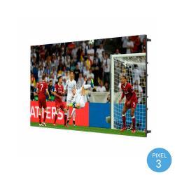 Pantalla Electrónica LED Interior Serie FIJA Pixel 3 RGB Full Color 1.22m2 (4 Modulos + Control) - Imagen 1