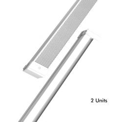 Barra LED 28W Lineal KIEL DYNAMICS para Techos tecnicos - Pack 2 unidades - Imagen 1