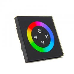 Controlador Empotrable Táctil para Tiras de LEDs RGB 12-24 V. DC - Imagen 1