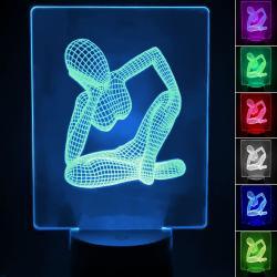 Lámpara de Mesa 3D RGB - WOMAN - - Imagen 1
