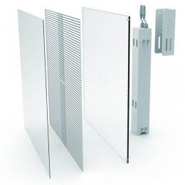 Rótulo electrónico LED Interior Serie MAGIC GLASS RGB Modulo 50x50cm -Modulo Apilable- - Imagen 2