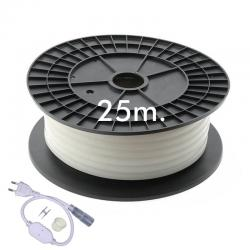 Neón LED CIRCULAR Flexible 220V Bobina 25m 16mm - 9,6W/m