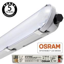 Regleta CCT Estanca LED integrado 25W-40W OSRAM DRIVER 120cm