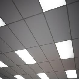 Panel LED 120x60 cm 72W Marco Blanco - Imagen 2