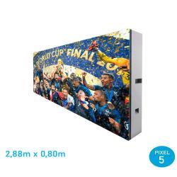 Rótulo LED Modular adaptable Pixel 5 RGB Full Color -2 Modulos - Imagen 1