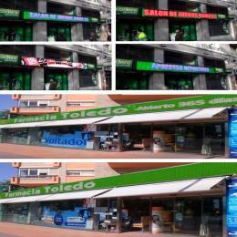Rótulo LED Modular adaptable Pixel 5 RGB Full Color -2 Modulos - Imagen 2