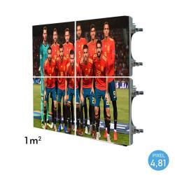 Rótulo electrónico LED Exterior Serie RENTAL Pixel 4.81 RGB Full Color 1m2 (4 Modulos Apilables + Control) - Imagen 1