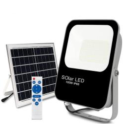 Foco Proyector Exterior SOLAR LED 100W Avance