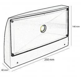 Aplique LED 20W 120º AMAZONAS - Imagen 2