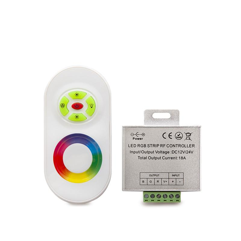 Controlador Táctil Tira LED RGB 12/24VDC 216/432W 50M - Imagen 3