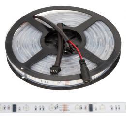 Tira LED 150 LEDs 5M 12VDC SMD5050 Digital RGB GR-LDT-W30DIGRGB-IP67 - Imagen 2