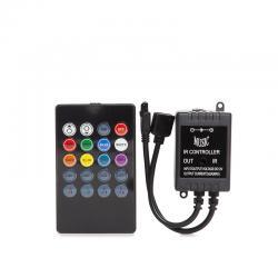 Controlador Musical 12/24VDC Tira LED RGB ► 72W