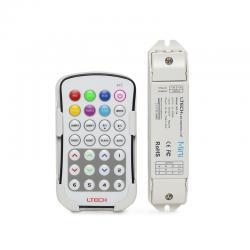 Controlador RGB M7 Pro Mando a Distancia 12-24VDC 108-216W