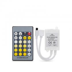 Controlador Tira LED Cct Variable Mando a Distancia