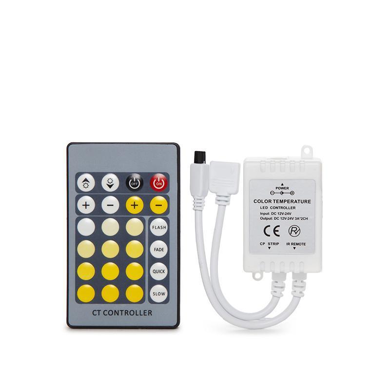 Controlador Tira LED Cct Variable Mando a Distancia - Imagen 3