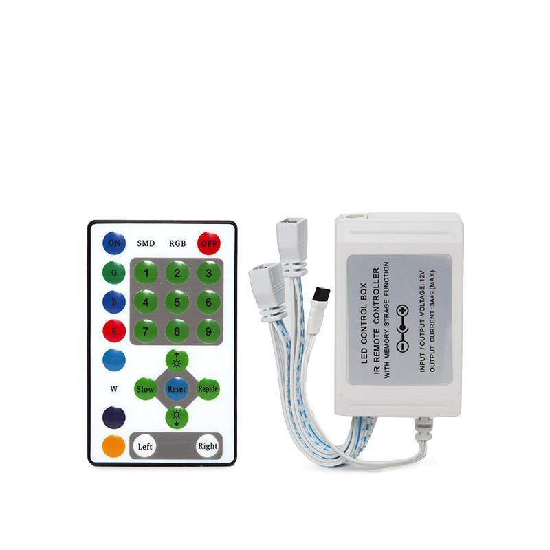 Controlador Tira Digital 12VDC Chasing Mágica Mando a Distancia - Imagen 3
