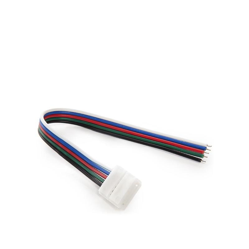 Conector Tira LED RGBw Simple con Cable - Imagen 3