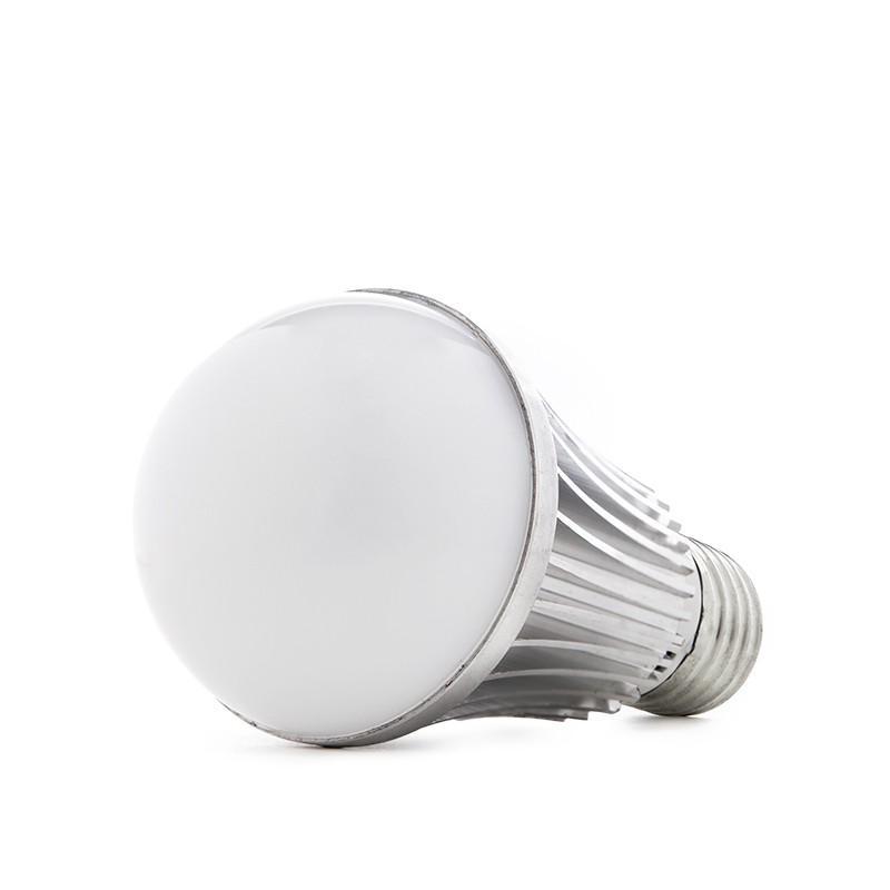 Bombilla de LEDs E27 con Sensor Crepuscular/Proximidad 7W 500Lm 30.000H - Imagen 1