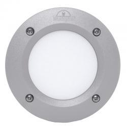 Lámpara de Pared Empotrada para Exterior Fumagalli Leti 100 Gris GX53 LED 3W Blanco Cálido Emily - Imagen 1