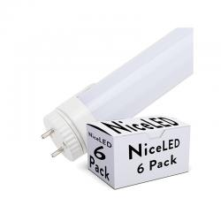 Pack Tubos Led Cabeza Rotatoria 10W 1000Lm