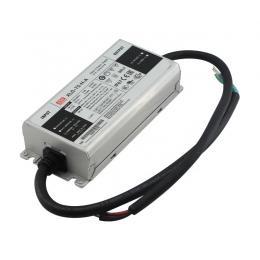 XLG-75-12-A IP67 Driver Potencia Constante Entrada 100-305VAC Salida 12VDC 5A 60W PFC Potenciometro - Imagen 2