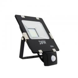 Foco Proyector LED 20W SMD con Detector de Movimiento