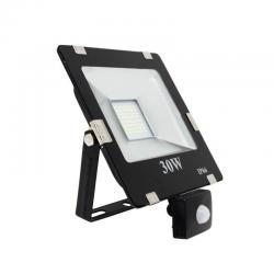 Foco Proyector LED 30W SMD con Detector de Movimiento