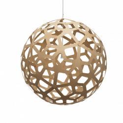 """Kit Lámpara Colgante """"Coral"""" Ø1200mm E27 Bambú Laminado [DTR-CORAL-1200-N] - Imagen 1"""