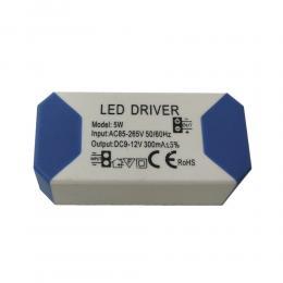 Driver para luminarias LED de 5W 300mA - Imagen 2