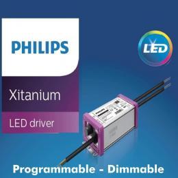 Módulo Optico LED 10W-65W Philips Driver Programable BRIDGELUX Chip SMD5050 8D para Farola - Imagen 2