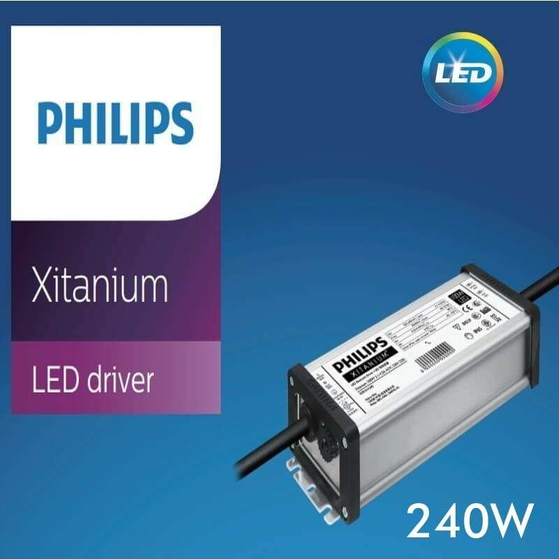 Driver Philips XITANIUM para Luminarias LED de hasta 240W - 3600 mA - 5 años Garantia - Imagen 1