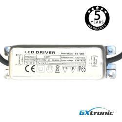 Driver para luminarias LED de 50W 1200mA - IP65