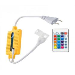 Cable Rectificador para Tira LED 220V - RGB con Mando a Distancia - Imagen 1