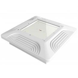 Luminaria LED Gasolineras Empotrada Lumileds IP65 100W 13000Lm - Imagen 2