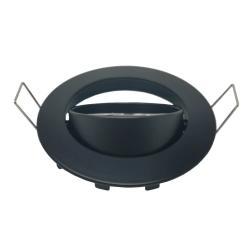 Aro Redondo Orientable para dicroica LED GU10 MR16 - Ø84mm - Aluminio - Imagen 1