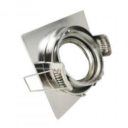 Aro cuadrado Orientable para dicroica LED GU10 MR16 - 84mm - Aluminio - Imagen 2