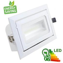 Foco proyector LED 36W orientable rectangular - 120º - Imagen 2