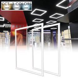 FIT Panel LED 60x60 40W Marco Luminoso Blanco - CCT - Imagen 1