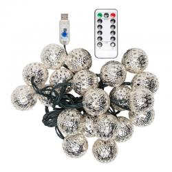 Guirnalda LED USB 20 LEDs [PLMP-626053-USB-WW] - Imagen 1