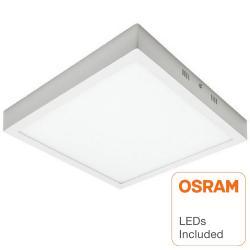 Plafón LED cuadrado superficie 30W - OSRAM CHIP DURIS E 2835 - Imagen 1