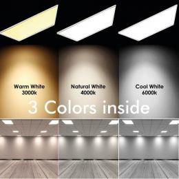 PACK 10 Panel LED 60x60 cm 40W Marco Blanco - CCT - PACKPRO 10 UND - Imagen 2