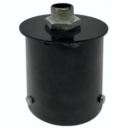 Soporte de acoplamiento para columna farola LED - 90mm - Imagen 1