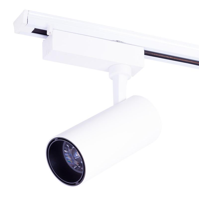 Foco Carril LED Monofásico Blanco 30W 3000Lm 30.000H Lumiastra - Imagen 1