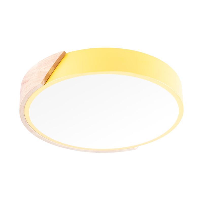 """Plafón LED Circular Superficie Bicolor """"Gwendoline"""" 18W 1800LM Temperatura Color Ajustable - Imagen 1"""