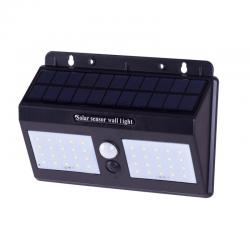 Aplique de Pared Solar IP65 40xLED SMD Sensor Luz + Movimiento