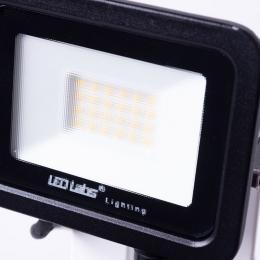 Foco Proyector LED IP44 Negro con Detector Movimiento 20W 1700Lm Blanco Natural - Imagen 2