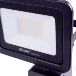 Foco Proyector LED IP44 Negro con Detector Movimiento 30W 2550Lm Blanco Natural - Imagen 2