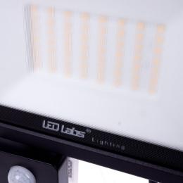Foco Proyector LED IP44 Negro con Detector Movimiento 50W 4250Lm Blanco Natural - Imagen 2