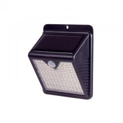Aplique de Pared Solar IP65 180º 150xLED SMD Sensor Luz + Movimiento - Blanco Frío