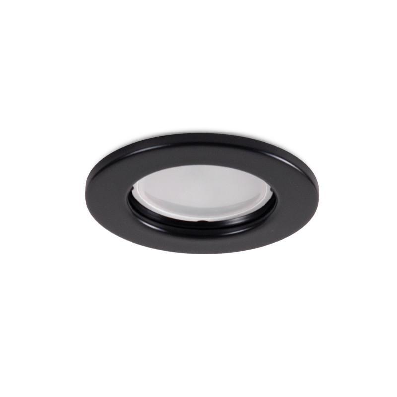 """Aro Foco Downlight Circular """"Sara"""" Acero 81mm - Negro - Imagen 1"""